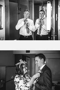 The groom and his parents photographed by de lumiere photography
