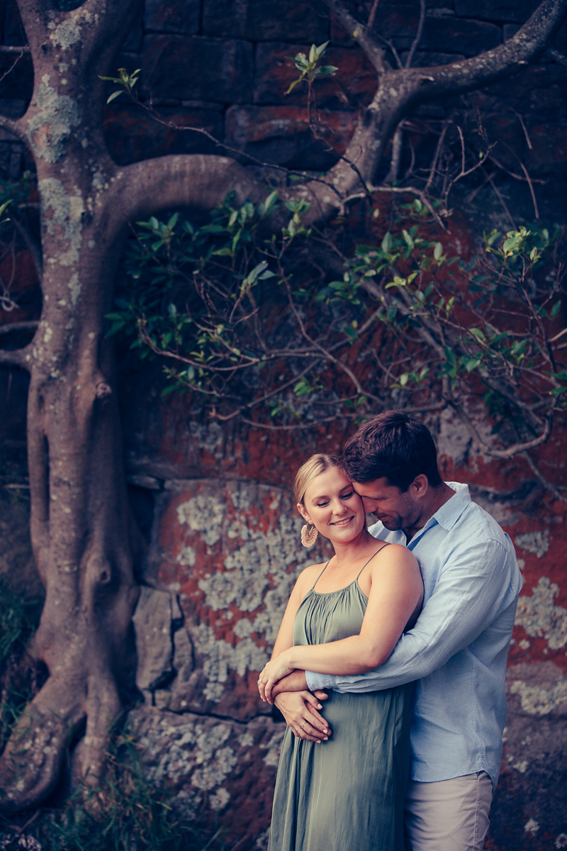 Engagement photography session at Bradley's Head on Sydney Harbour photographed by de lumiere photography